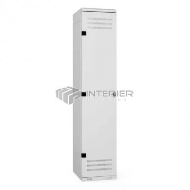 Šatní skříň kovová 1-dveřová