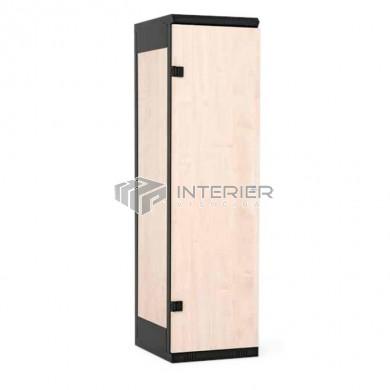 Šatní skříň kov+lamino 1-dveřová
