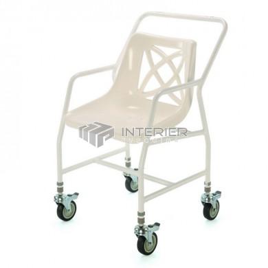 Židle do sprchy pojizdná nastavitelná 546 B/ADJ