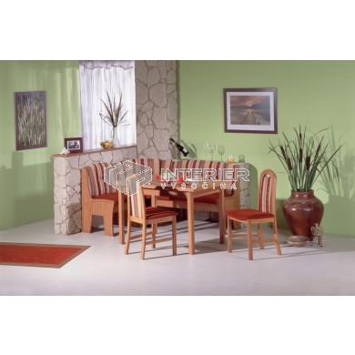 Sevilla rohová lavice - jídelní set