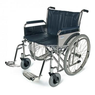 Invalidní vozík transportní 238-23 (š.51cm)