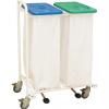 Vozík na prádlo VN 2 S - pedálové ovládání