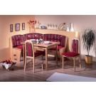 Baden rohová lavice - jídelní set